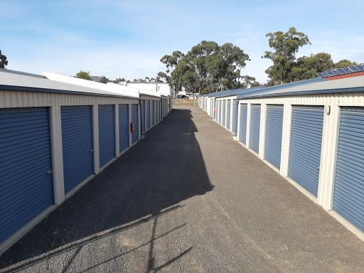 Outside View Of Self Storage Units
